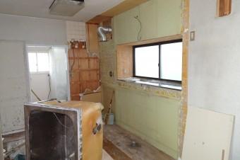 キッチン・浴槽解体
